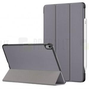 """Apple iPad Air 4 10.9"""" (2020) atverčiamas pilkas dėklas - knygutė"""