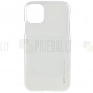 Apple iPhone 11 Pro Mercury sidabrinis kieto silikono TPU dėklas - nugarėlė
