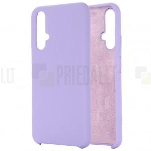 Huawei Honor 20 (Nova 5T) Shell kieto silikono TPU violetinis dėklas - nugarėlė