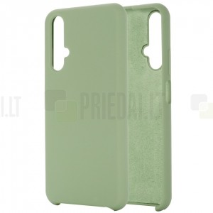 Huawei Honor 20 (Nova 5T) Shell kieto silikono TPU žalias dėklas - nugarėlė
