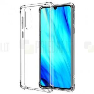 Huawei P30 kieto silikono TPU skaidrus dėklas - nugarėlė