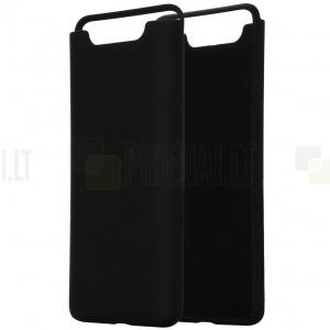 Samsung Galaxy A80 (A805F) Shell kieto silikono TPU juodas dėklas - nugarėlė