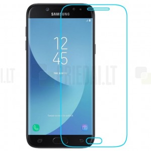 Samsung Galaxy J7 2017 (J730) tempered Glass apsauginis ekrano stiklas 0.3 mm