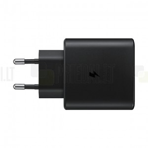 """Originalus """"Samsung"""" Super Fast Charging 45W EP-TA845 įkroviklis su Type-C laidu 5A - juodas"""
