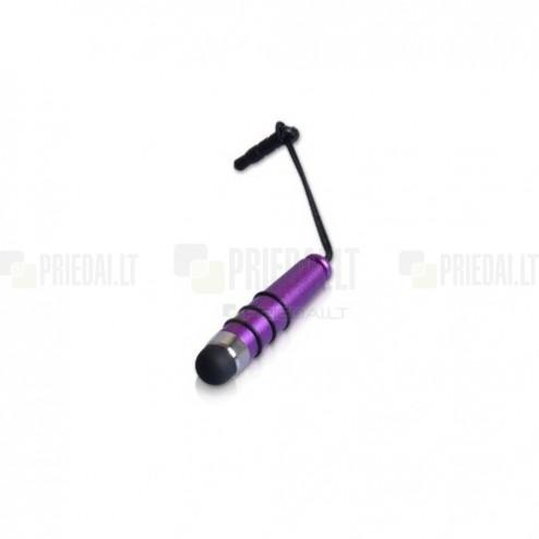 Violetinis metalinis mini liestukas (angl. mini Stylus Pen)
