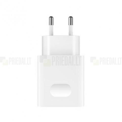 """Originalus """"Huawei"""" Super Charge (HW-050450E00) baltas kelioninis (sieninis) įkroviklis"""