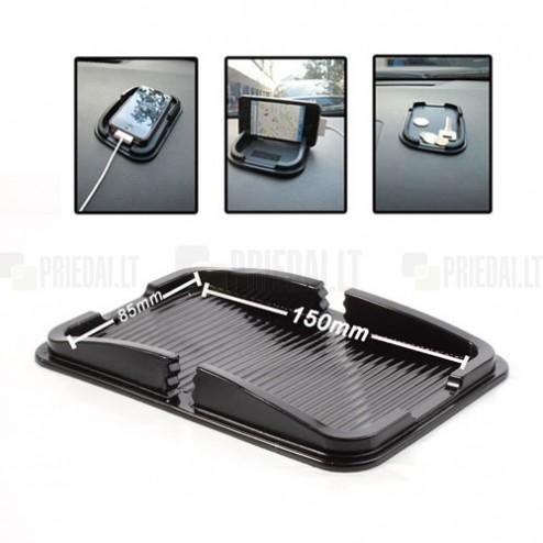 Anti-Slip Pad automobilinis kilimėlis, laikiklis - juodas (L+ dydis)