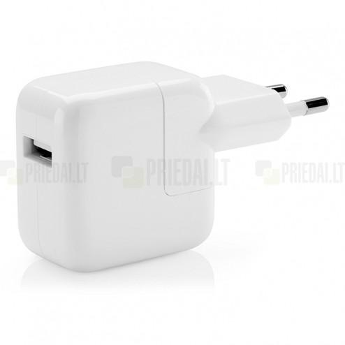 "Originalus ""Apple"" 12W kelioninis (sieninis) įkroviklis MD836 (2.4 Amp.)"