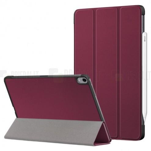 """Apple iPad Air 4 10.9"""" (2020) atverčiamas bordo dėklas - knygutė"""