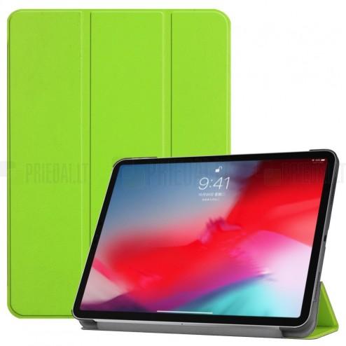 """Apple iPad Pro 11"""" atverčiamas žalias dėklas - knygutė"""