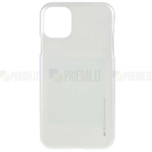 Apple iPhone 11 Mercury sidabrinis kieto silikono TPU dėklas - nugarėlė