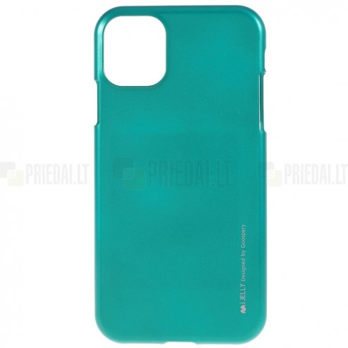 Apple iPhone 11 Mercury žalias kieto silikono TPU dėklas - nugarėlė