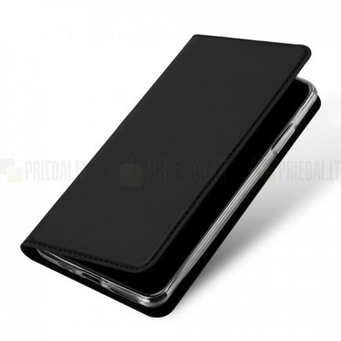 """""""Dux Ducis"""" Skin serijos Apple iPhone 11 Pro juodas odinis atverčiamas dėklas"""