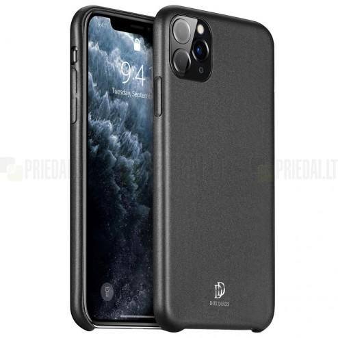 """""""Dux Ducis"""" Skin Lite Apple iPhone 11 Pro Max juodas dėklas - nugarėlė"""