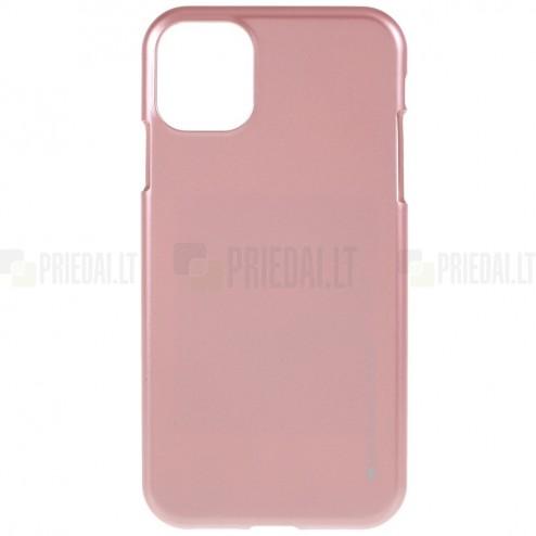 Apple iPhone 11 Pro Max Mercury šviesiai rožinis kieto silikono TPU dėklas - nugarėlė
