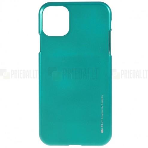 Apple iPhone 11 Pro Max Mercury žalias kieto silikono TPU dėklas - nugarėlė