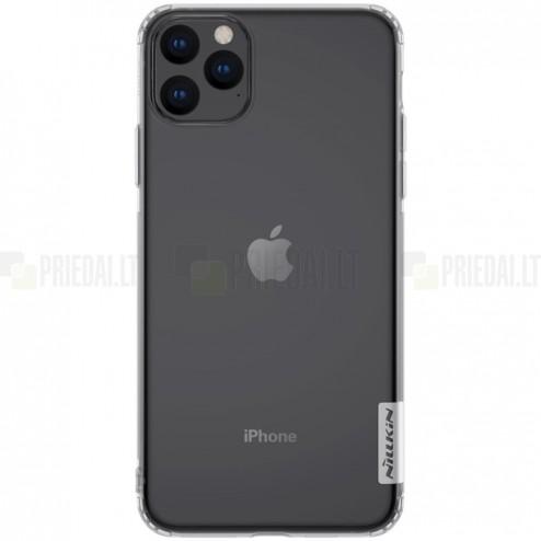 Apple iPhone 11 Pro Max Nillkin Nature plonas skaidrus (permatomas) silikoninis TPU bespalvis dėklas