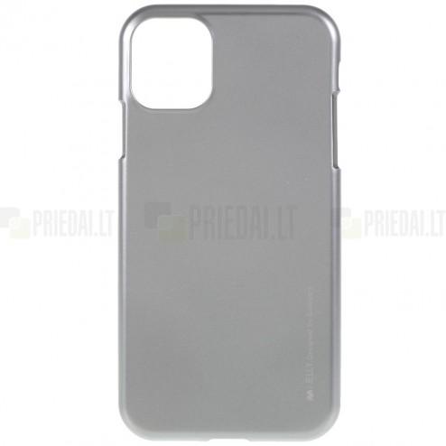 Apple iPhone 11 Pro Mercury pilkas kieto silikono TPU dėklas - nugarėlė