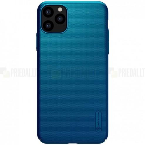 Nillkin Frosted Shield Apple iPhone 11 Pro mėlynas plastikinis dėklas