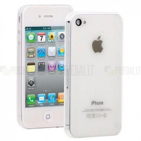 Ploniausias pasaulyje skaidrus Apple iPhone 4S dėklas (dėkliukas)