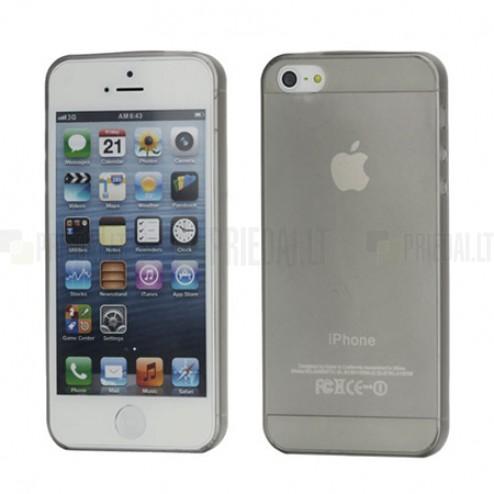 Ploniausias pasaulyje pilkas Apple iPhone SE (5, 5s) dėklas