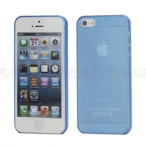 Ploniausias pasaulyje mėlynas Apple iPhone SE (5, 5s) dėklas