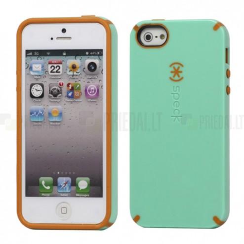 """Žalias """"Speck"""" Candyshell tvirto silikono Apple iPhone SE (5, 5s) dėklas (dėkliukas)"""