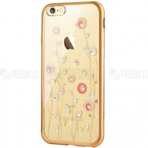 """Apple iPhone 6 (6s) """"JLW"""" Color Palette dangiškas su auksiniais apvadais elegantiškas plastikinis dėklas"""