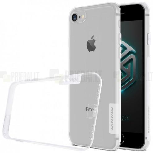 Apple iPhone 7 (iPhone 8) Nillkin Nature plonas skaidrus (permatomas) silikoninis TPU bespalvis dėklas