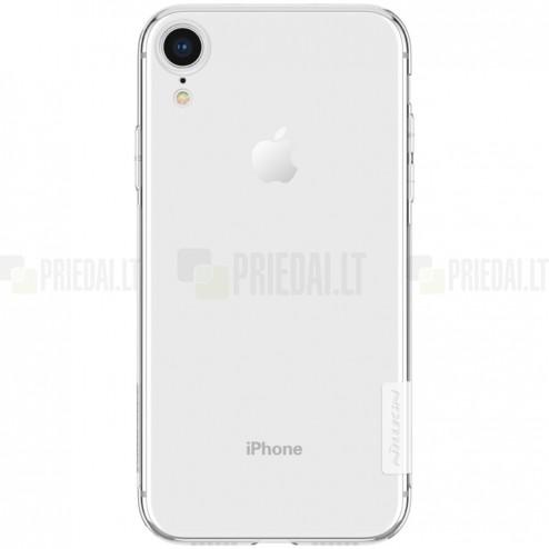 Apple iPhone Xr Nillkin Nature plonas skaidrus (permatomas) silikoninis TPU bespalvis dėklas