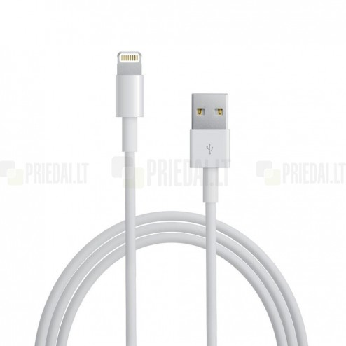 Originalus Apple iPhone Lightning USB laidas 1 metro MD818ZM