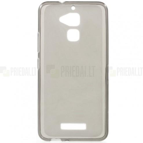 Asus Zenfone 3 Max (ZC520TL) kieto silikono TPU pilkas dėklas - nugarėlė