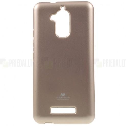 Asus Zenfone 3 Max (ZC520TL) auksinis Mercury kieto silikono (TPU) dėklas