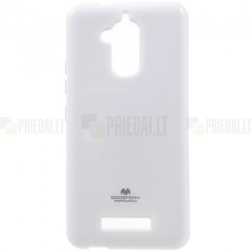 Asus Zenfone 3 Max (ZC520TL) baltas Mercury kieto silikono (TPU) dėklas
