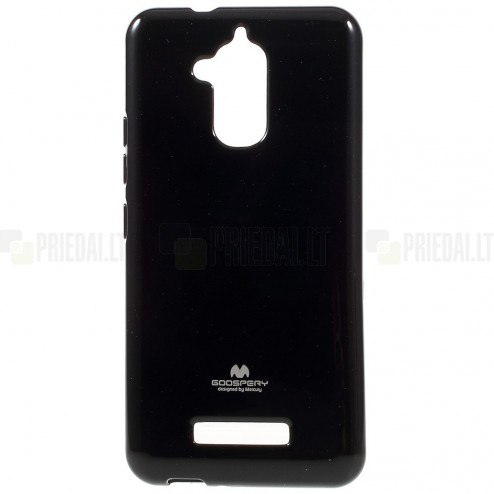 Asus Zenfone 3 Max (ZC520TL) juodas Mercury kieto silikono (TPU) dėklas