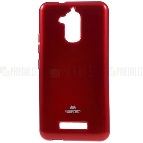 Asus Zenfone 3 Max (ZC520TL) raudonas Mercury kieto silikono (TPU) dėklas