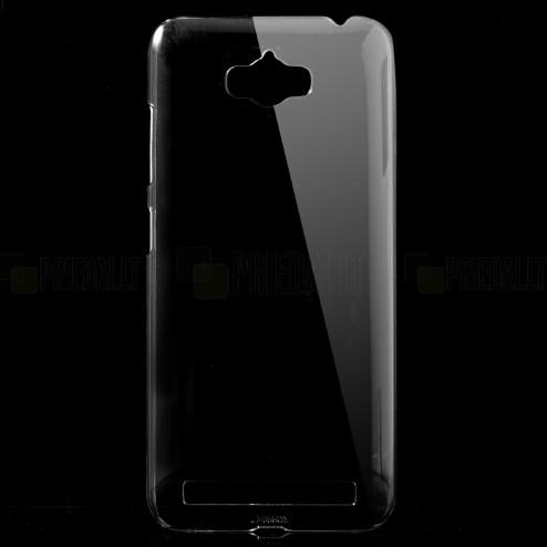 Asus Zenfone Max (ZC550KL) plastikinis skaidrus (permatomas) dėklas - nugarėlė