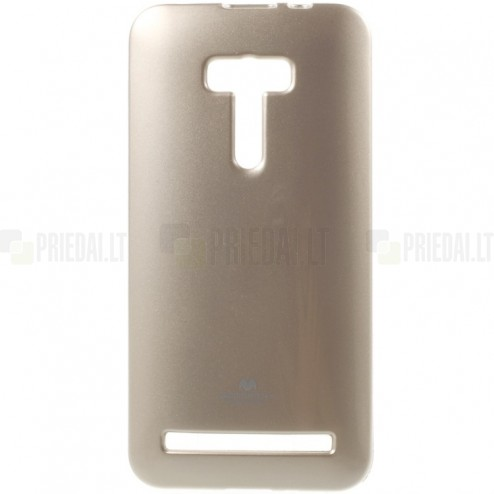 Asus Zenfone Selfie (ZD551KL) auksinis Mercury kieto silikono (TPU) dėklas