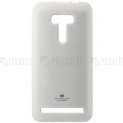 Asus Zenfone Selfie (ZD551KL) baltas Mercury kieto silikono (TPU) dėklas