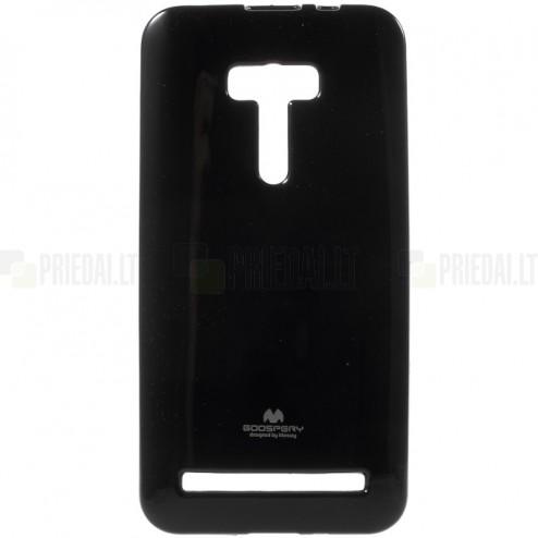 Asus Zenfone Selfie (ZD551KL) juodas Mercury kieto silikono (TPU) dėklas