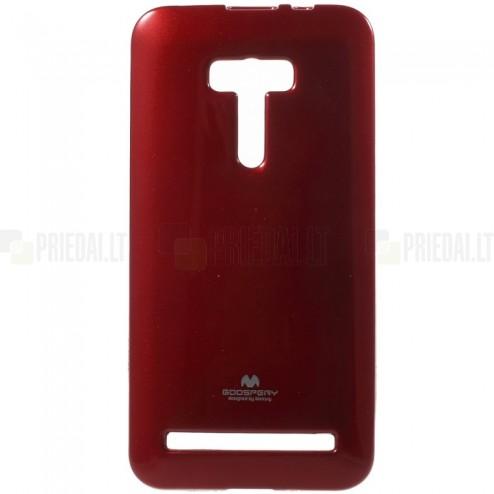 Asus Zenfone Selfie (ZD551KL) raudonas Mercury kieto silikono (TPU) dėklas