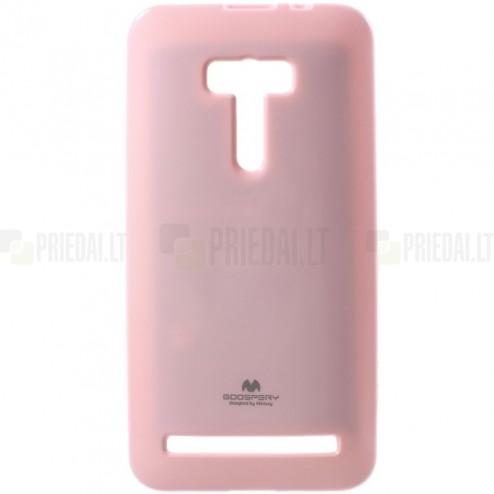 Asus Zenfone Selfie (ZD551KL) šviesiai rožinis Mercury kieto silikono (TPU) dėklas