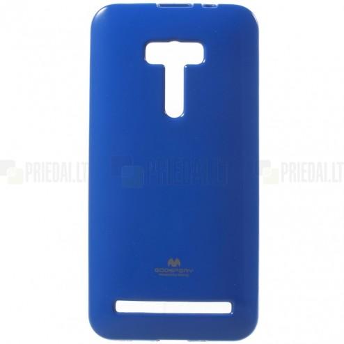 Asus Zenfone Selfie (ZD551KL) tamsiai mėlynas Mercury kieto silikono (TPU) dėklas