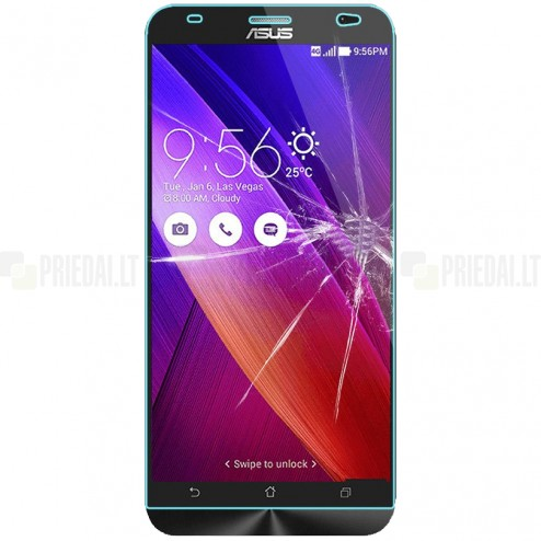 Asus Zenfone 2 5.5 (ZE550ML, ZE551ML) tempered Glass apsauginis ekrano stiklas 0.3 mm