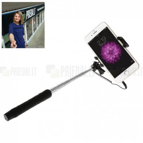 """""""Baseus"""" Mini teleskopinė asmenukių (selfie) fotogravimo lazda (laikiklis) - monopod"""