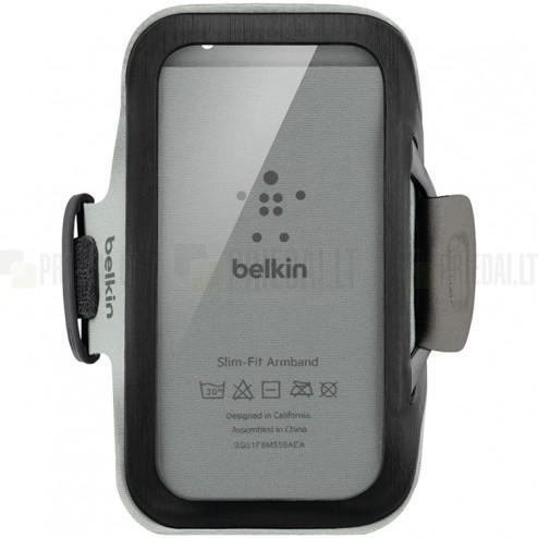 Belkin Slim-Fit Armband dėklas sportui (raištis ant rankos) - juodas, universalus (L+ dydis)