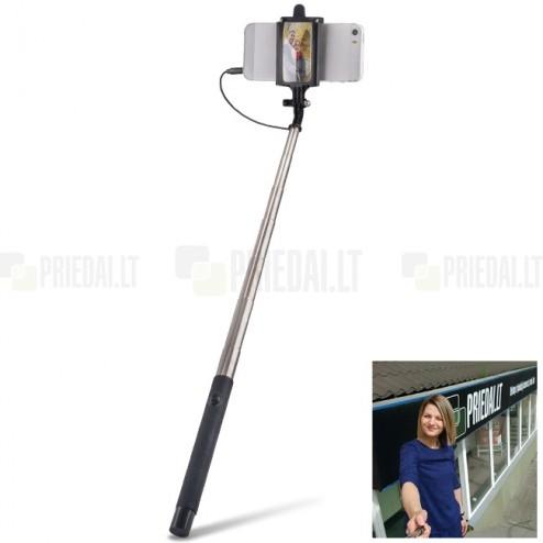 """""""Forever"""" Selfie teleskopinė asmenukių fotogravimo lazda (laikiklis) - monopod"""