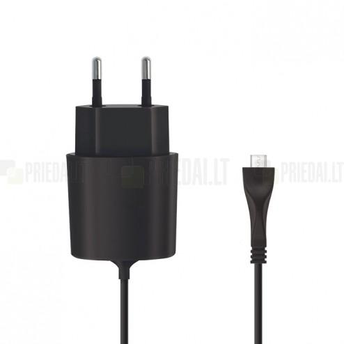 Originalus Forever (kelioninins, sieninis, buitinis) tinklo įkroviklis su micro USB laidu (Europa)
