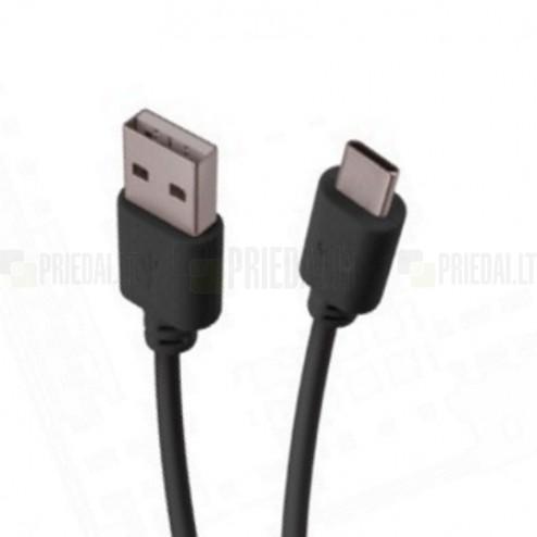 """""""Forever"""" Type-C USB juodas laidas 1 m. (originalus)"""