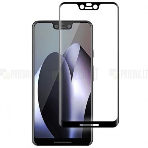 """Google Pixel 3 XL """"Mocolo"""" 9H Tempered Glass sustiprintos apsaugos juodas pilnai dengiantis apsauginis ekrano stiklas 0,26 mm"""